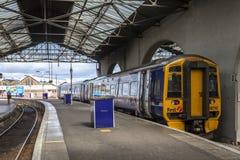 Inverness railroad station, Scotland Royalty Free Stock Image