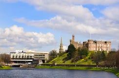 Inverness-Schloss, Inverness Schottland Lizenzfreies Stockbild