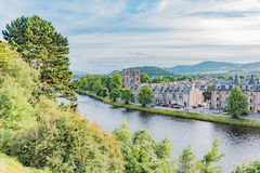 Inverness Skottland Arkivfoto