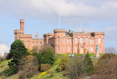 Inverness slott, Inverness Skottland Royaltyfria Foton
