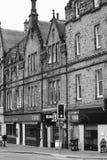 Inverness specificerade arkitektur av den gamla staden, Inverness Fotografering för Bildbyråer