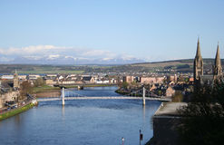 Inverness in the spring royalty free stock images