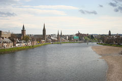 Inverness in the spring Royalty Free Stock Photography