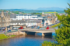 Inverness in Springtime Stock Photo