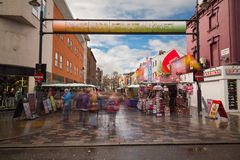 Inverness Street Market in Camden Town Royalty Free Stock Photo