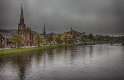 Inverness before thunderstorm Stock Photos
