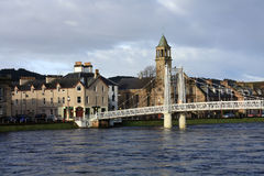Inverness town Royalty Free Stock Photo
