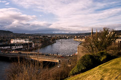 Inverness View From the Castle Stock Photo