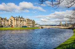 Inverness on Winter Day royalty free stock photo