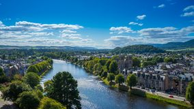Free Inverness With River Ness Stock Photos - 140777933