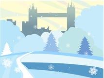 Inverno illustrazione vettoriale