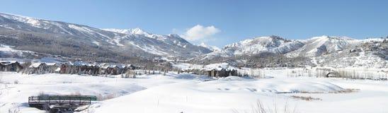 Inverno ad Aspen Immagini Stock Libere da Diritti