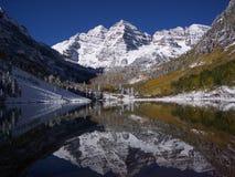 Inverno adiantado nas Bels Fotografia de Stock