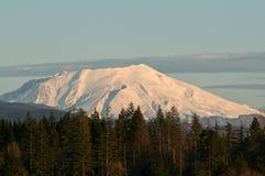 Inverno alla st Helens di Mt. Fotografia Stock