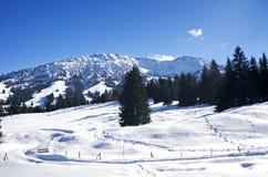 Inverno in Allgau Immagini Stock Libere da Diritti