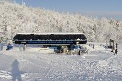 Inverno in alto Tatras fotografia stock libera da diritti