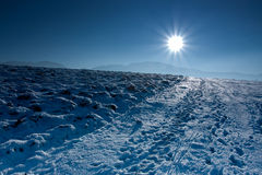 Inverno azul fotos de stock