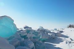 Inverno Baikal imagem de stock royalty free