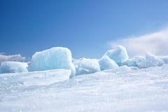Inverno Baikal Foto de Stock