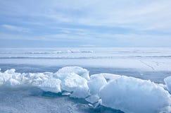 inverno Baikal fotografia de stock royalty free