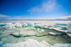 inverno Baikal Imagens de Stock