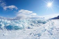 inverno Baikal Imagem de Stock