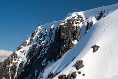 Inverno Ben Nevis Fotos de Stock Royalty Free