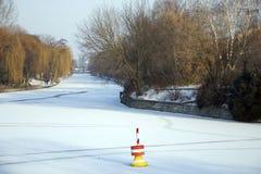 Inverno a Berlino Fotografia Stock Libera da Diritti