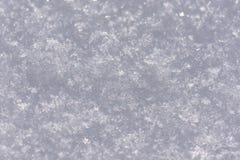 Inverno bianco del fondo di struttura della neve immagini stock libere da diritti