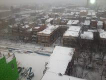 Inverno in Chicago immagine stock