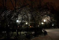 Inverno a Chisinau Immagini Stock