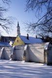 Inverno in città Fotografia Stock Libera da Diritti