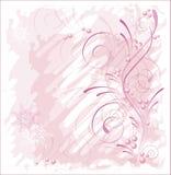 Inverno cor-de-rosa ilustração do vetor
