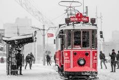 Inverno a Costantinopoli Fotografia Stock Libera da Diritti