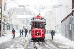 Inverno a Costantinopoli Fotografia Stock