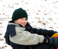 Inverno da brincadeira Imagem de Stock