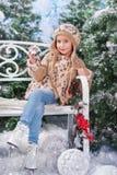 inverno da criança Fotos de Stock Royalty Free