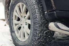 inverno da geada do carro Foto de Stock