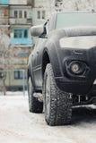 inverno da geada do carro Imagem de Stock