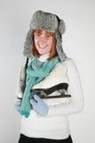 Inverno da mulher Imagem de Stock