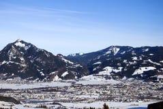 Inverno de Baviera Imagens de Stock Royalty Free
