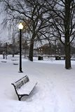 Inverno de Boston Imagens de Stock