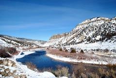 Inverno de Colorado Imagem de Stock Royalty Free