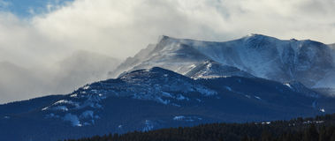 inverno de Colorado  Fotografia de Stock