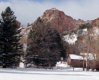 inverno de Colorado Imagens de Stock Royalty Free