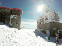inverno de GoPro imagens de stock royalty free