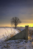 inverno de Midwest fotos de stock