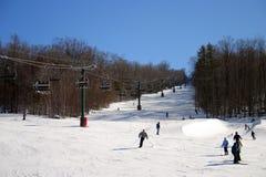 inverno de Nova Inglaterra Imagens de Stock
