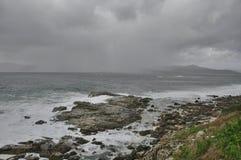 inverno de Oceano Atlântico Imagem de Stock