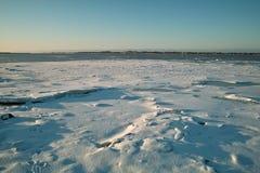 Inverno del ghiaccio immagine stock